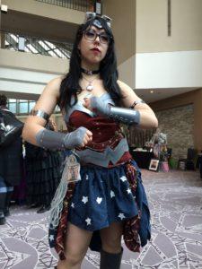 Steampunk Wonder Woman was our next-door neighbor.